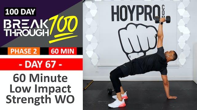 #67 - 60 Minute Full Body Low Impact ...