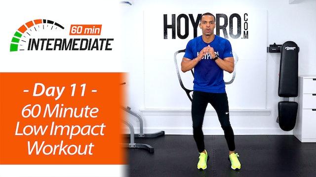 60 Minute Intermediate Low Impact Workout - Intermediate 60 #11