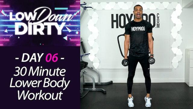 30 Minute WHEELS - Lower Body Intermediate Workout - Low Down #06