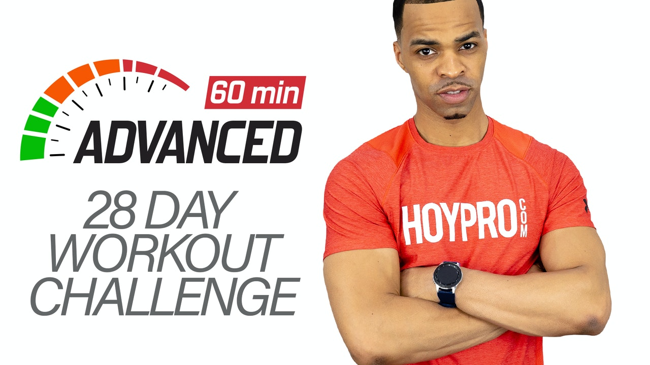 28 Day 60 Minute Advanced Challenge