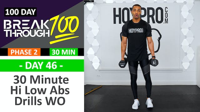 #46 - 30 Minute Hi Low Abs Full Body ...