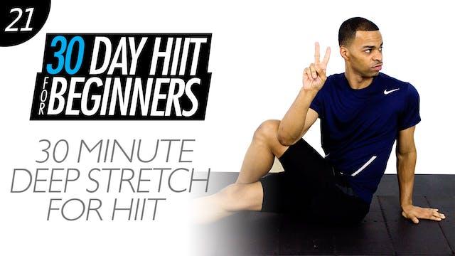 30 Minute Total Body Deep Stretch Yoga