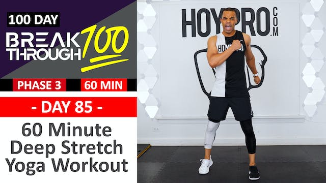 #85 - 60 Minute Jekyll & Hyde Cardio + Strength Workout - Breakthrough100