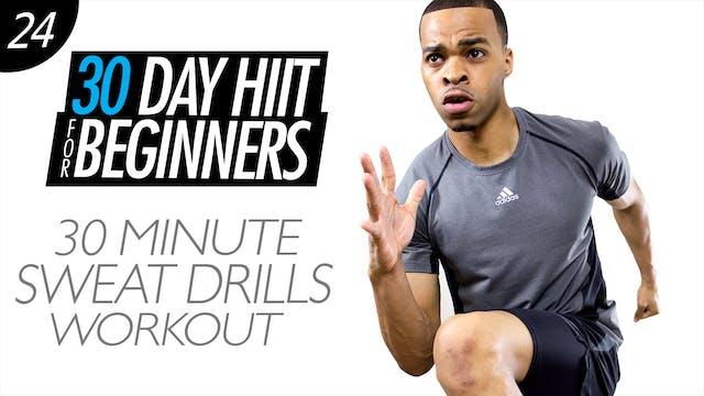 Beginners #24 - 30 Minute Fat Burning Drills