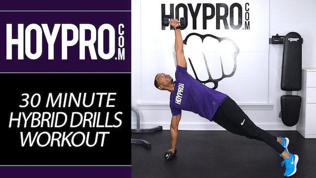 30 Minute Hybrid Drills Toning Sweat Workout