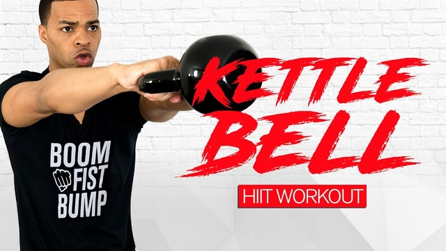 30 Minute Kettlebell Strength and HIIT Workout