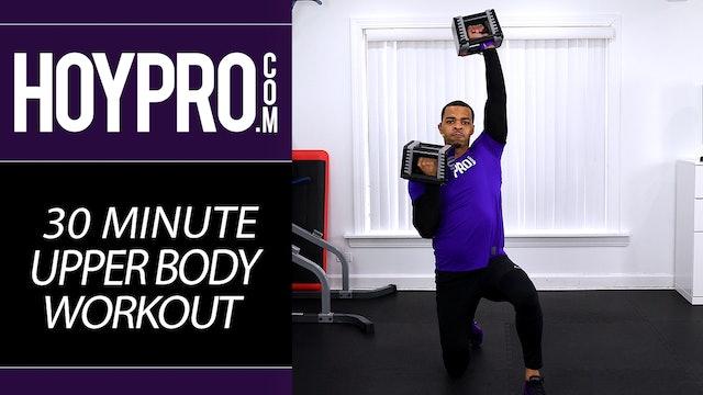 30 Minute Upper Body Workout - Back & Shoulder BONUS