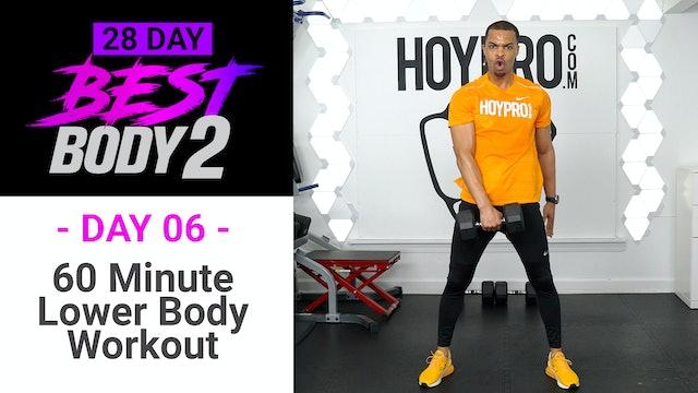 60 Minute Lower Body Plyo Strength Workout - Best Body 2 #06