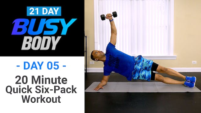 20 Minute Dumbbell Abs Workout - Busy Body #05
