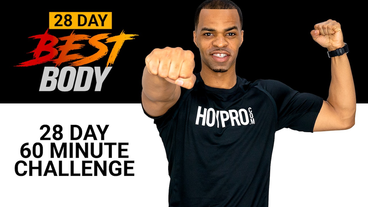 28 Day Best Body - 60 Minutes Per Day Challenge