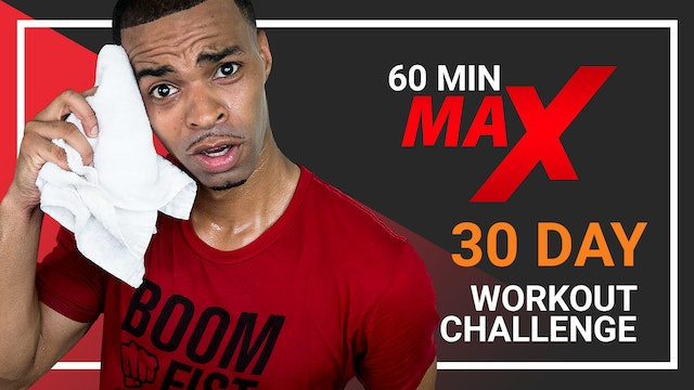 60 Minute MAX - 30 Day 60 Minute Workout Playlist
