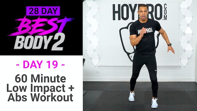 60 Minute Full Body Low Impact Workout + Abs - Best Body 2 #19