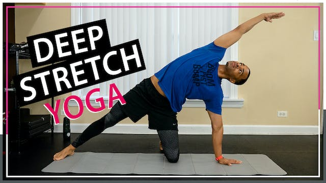 30 Minute Full Body Deep Stretch Yoga...