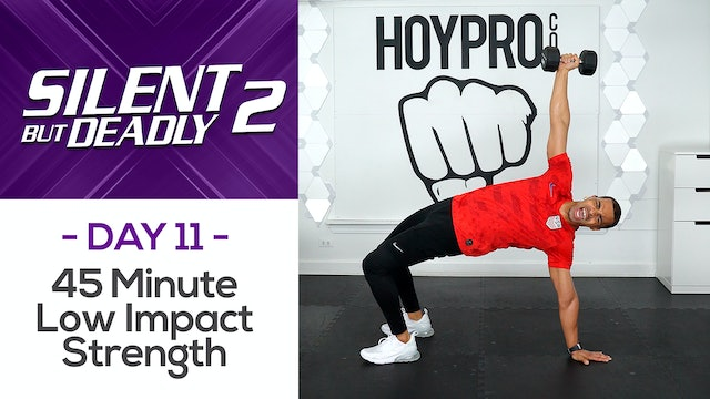 45 Minute Full Body Low Impact Strength Workout - SBD2 #11