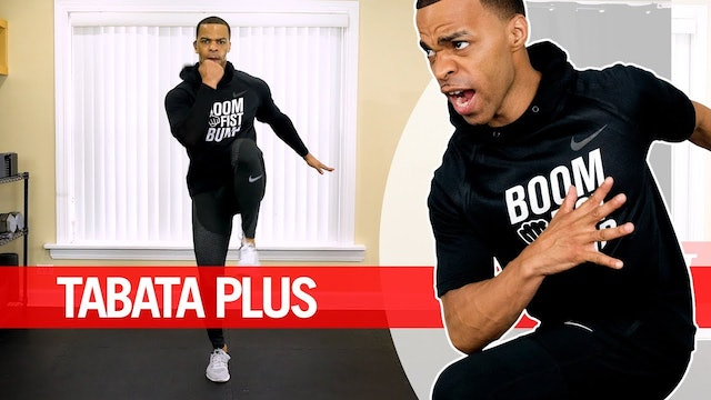 30 Minute Tabata PLUS Cardio HIIT Workout with Weights