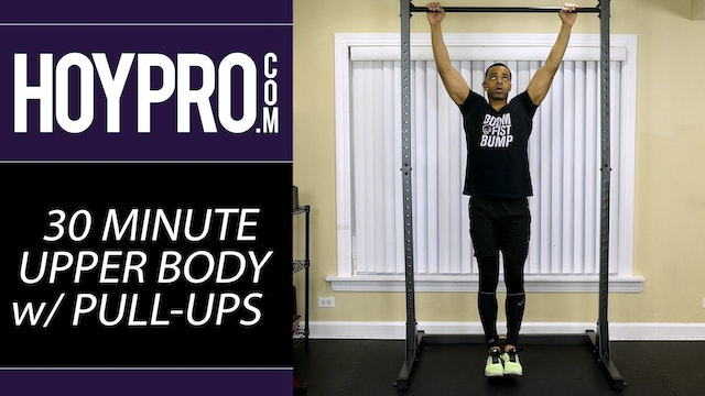 30 Minute Upper Body Arms Workout w/ Pull-ups