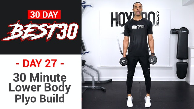 30 Minute Lower Body Plyo Build Legs Workout - Best30 #27