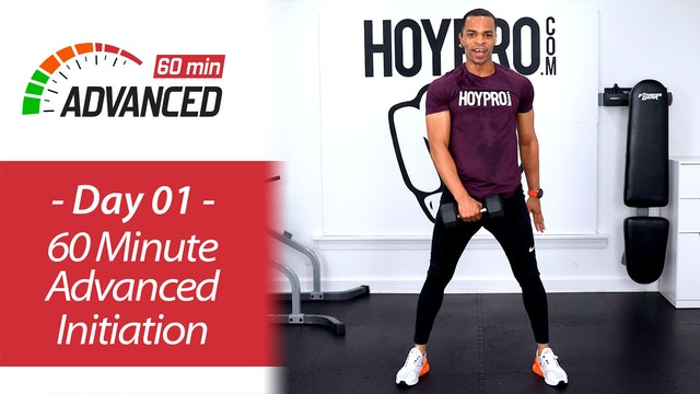 60 Minute Advanced ABAB Initiation Workout - Advanced 60 #01