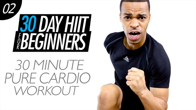 Beginners #02 - 30 Minute Easy Cardio Home Workout