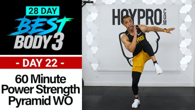 60 Minute Power Pyramid & Strength Sets + Abs - Best Body 3 #22