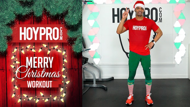 30 Minute Merry Christmas Hybrid HIIT Workout (2019)