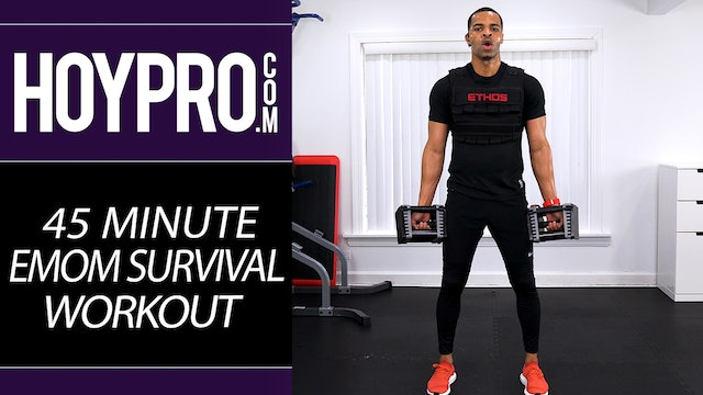 45 Minute EMOM SURVIVAL - HIIT & Strength Workout