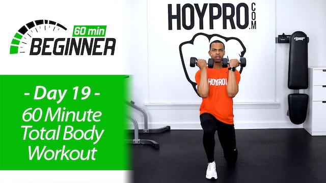 60 Minute Full Body Beginners Workout + Abs - Beginners 60 #19