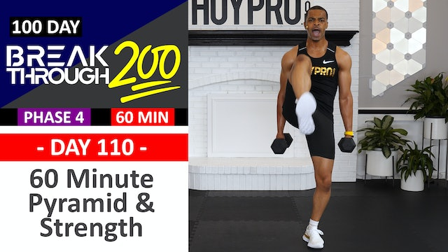#110 - 60 Minute Power Pyramid & Strength Sets + Abs - Breakthrough200
