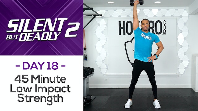 45 Minute Full Body Low Impact Strength Workout - SBD2 #18