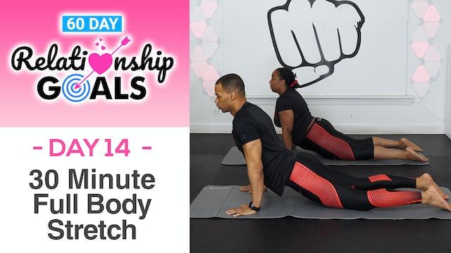 30 Minute VULNERABILITY Deep Stretch Yoga Workout - Relationship Goals #14