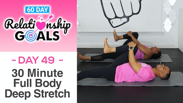 30 Minute CONSIDERATION Deep Stretch Yoga Workout - Relationship Goals #49