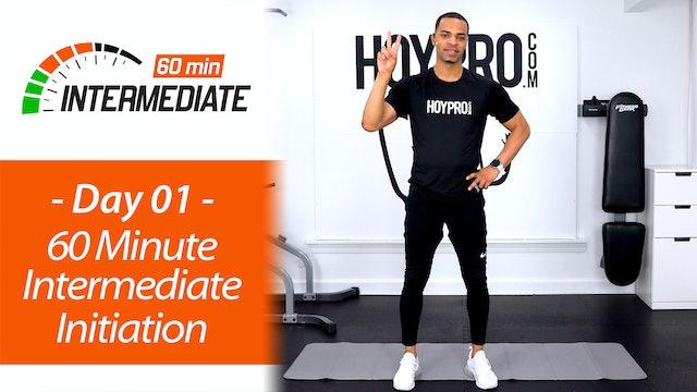 60 Minute Intermediate ABAB Initiation Workout - Intermediate 60 #01