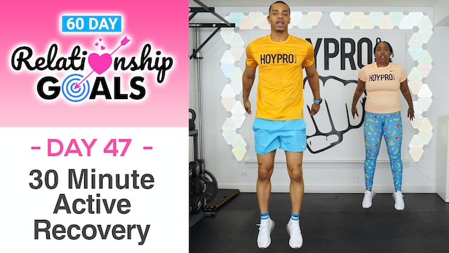 30 Minute GRATITUDE Active Recovery Workout - Relationship Goals #47
