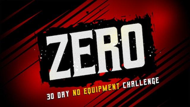 30 Day ZERO - No Equipment Workout Challenge