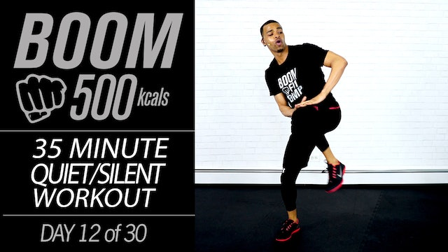 BOOM #12 - 35 Minute Low Impact Intense Workout