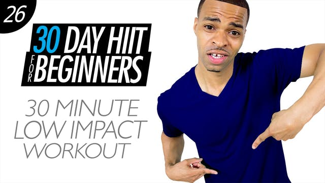 Beginners #26 - 30 Minute Low Impact Cardio Workout