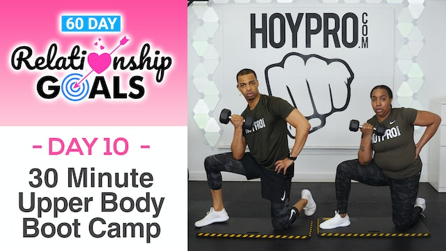 30 Minute INTEGRITY Upper Body Boot Camp Workout - Relationship Goals #10