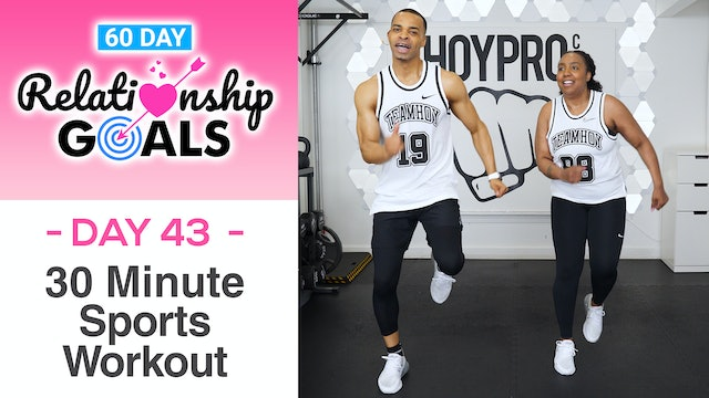 30 Minute COOPERATION - Sports Themed Workout - Relationship Goals #43