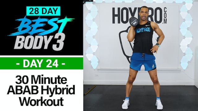 30 Minute Full Body ABAB Hybrid Worko...
