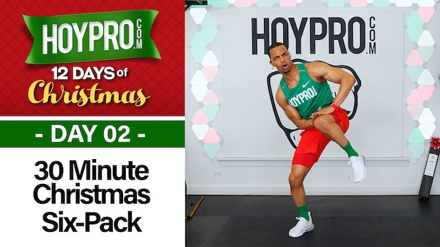 30 Minute All I Want for Christmas Is Six-Pack Abs - 12 Days of Christmas #02