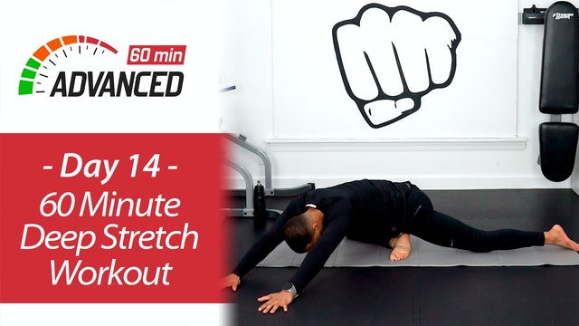 60 Minute Deep Stretch Yoga and Recovery Workout - Advanced 60 #14
