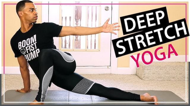 30 Minute After Workout Deep Stretch Recovery Yoga