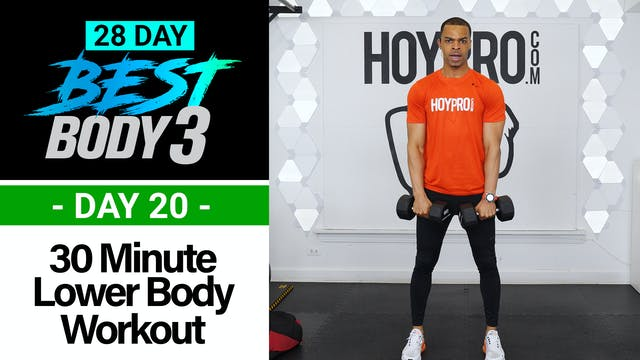 30 Minute Lower Body Strength Workout...