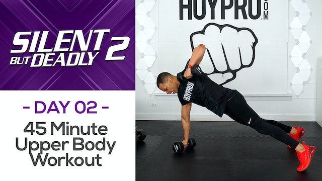 45 Minute Upper Body CRUSHER Workout -  - SBD2 #02
