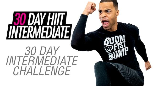 30 Day Intermediate Home Workout Program