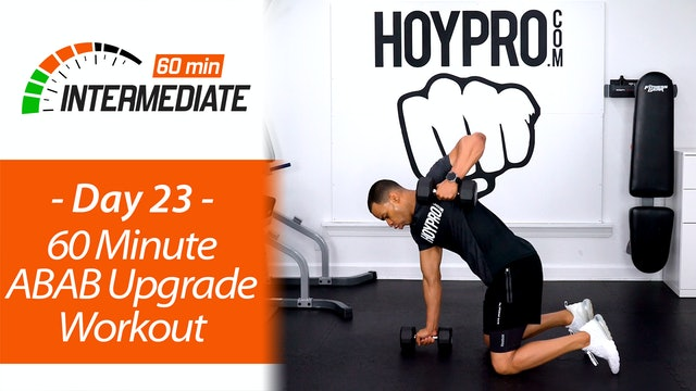 60 Minute Upper Body Arm Upgrades Workout - Intermediate 60 #23