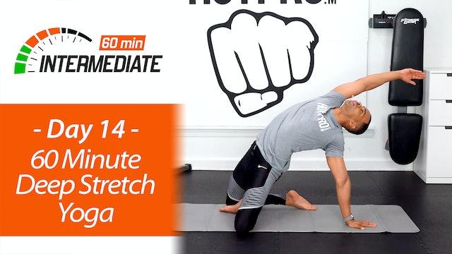 60 Minute Intermediate Deep Stretch & Recovery Yoga - Intermediate 60 #14
