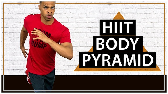 30 Minute Bodyweight Pyramid HIIT & Cardio Workout