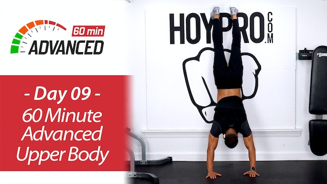 60 Minute Advanced Upper Body Strength Workout - Advanced 60 #09