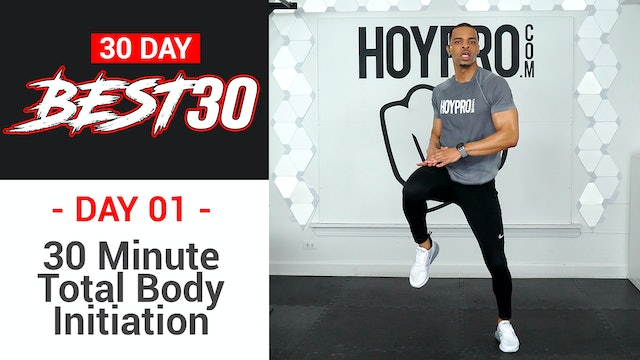 30 Minute Best 30 Initiation Full Body HIIT Circuits - Best30 #01